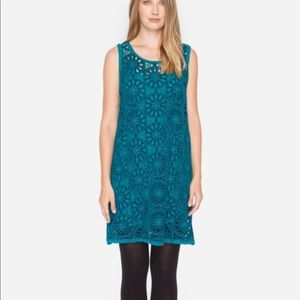 NWT Johnny Was dial eyelet dress